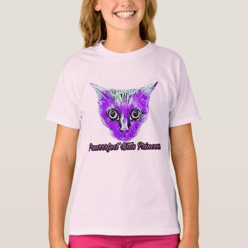 Midnights Puurrrfect Little Princess T_Shirt