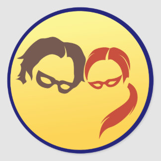 MidnightSQL Hero Logo - Stickers
