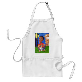 Midnite Blues in the Bayou Adult Apron
