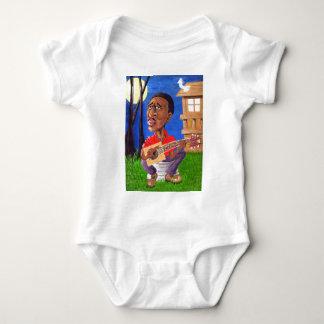 Midnite Blues in the Bayou Baby Bodysuit