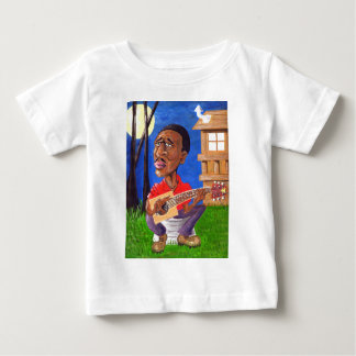 Midnite Blues in the Bayou Baby T-Shirt