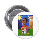 Midnite Blues in the Bayou Buttons