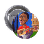 Midnite Blues in the Bayou Pinback Buttons