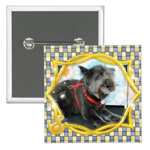 Midnite - Carin y mezcla del perro chino Pins
