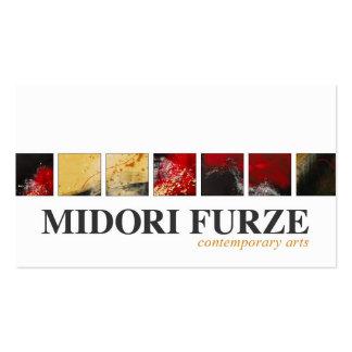 Midori Furze - febrero '12 Tarjetas De Visita