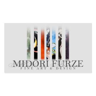 Midori Furze - tarjeta de visitas 2 Tarjetas De Visita