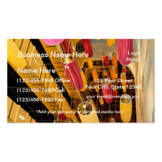 Midship Elevator Balcony view Business Card Templates