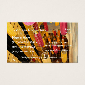 Midship Elevator Balcony view Business Card