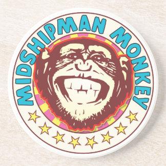 Midshipman Monkey Coasters