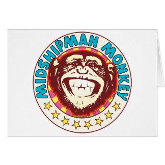 Midshipman Monkey Greeting Card