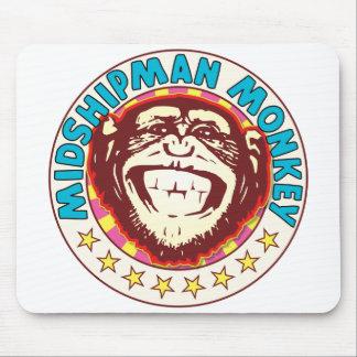 Midshipman Monkey Mouse Pad