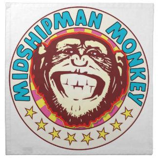 Midshipman Monkey Napkins