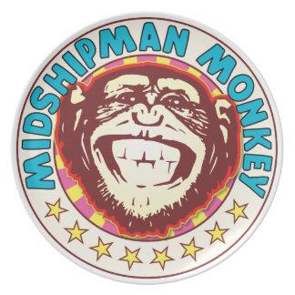 Midshipman Monkey Party Plate