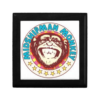 Midshipman Monkey Trinket Boxes