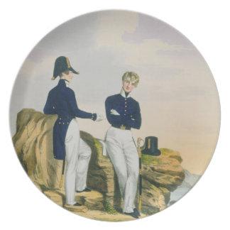 Midshipmen, plate 3 from 'Costume of the Royal Nav