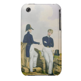 Midshipmen, plate 3 from 'Costume of the Royal Nav iPhone 3 Case-Mate Case