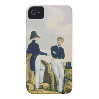 Midshipmen, plate 3 from 'Costume of the Royal Nav iPhone 4 Cover