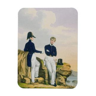 Midshipmen, plate 3 from 'Costume of the Royal Nav Magnet