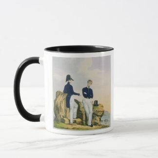 Midshipmen, plate 3 from 'Costume of the Royal Nav Mug