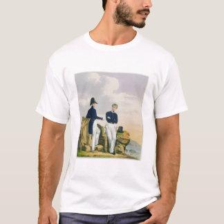 Midshipmen, plate 3 from 'Costume of the Royal Nav T-Shirt