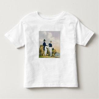 Midshipmen, plate 3 from 'Costume of the Royal Nav Toddler T-shirt