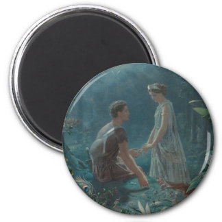 Midsummer Dream Hermia and Lysander Magnet