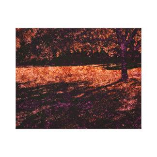 midsummer dreaming tree canvas print