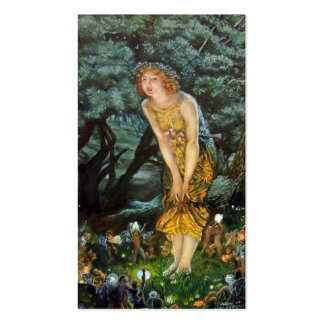 Midsummer Eve, Edward Robert Hughes Business Card