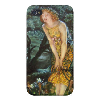 Midsummer Eve, Edward Robert Hughes Cases For iPhone 4