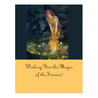Midsummer Eve Fairy Circle Postcard