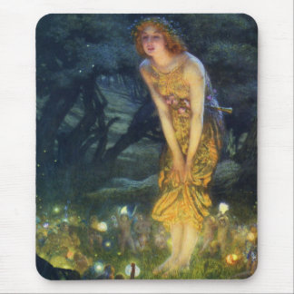 Midsummer Eve Fairy Dance Mouse Pad