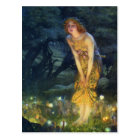 Midsummer Eve Fairy Dance Postcard