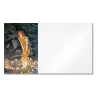 Midsummer Eve Fairy Ring Magnetic Business Card