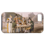 Midsummer Eve, from `Costume of Yorkshire' engrave iPhone 5 Covers