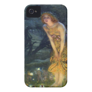 Midsummer Eve with a Fairy Ring 1908 iPhone 4 Case-Mate Case