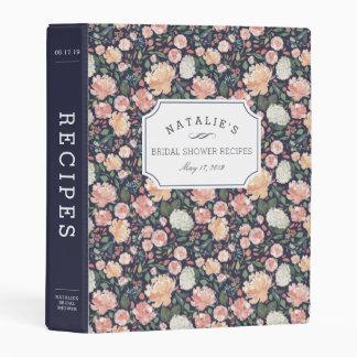 Midsummer Floral | Bridal Shower Recipe Mini Binder