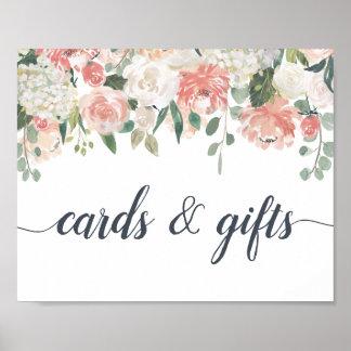 Midsummer Floral Cards & Gifts Sign