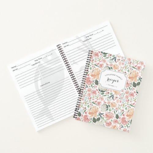 Midsummer Floral Recipe Notebook