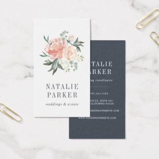 Midsummer Floral | Vertical Business Card