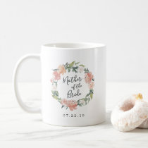 Midsummer Floral Wreath Mother of the Bride Coffee Mug