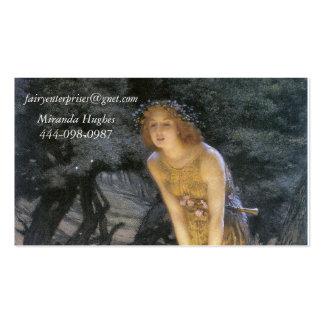 Midsummer Night Fairy Ring Business Card
