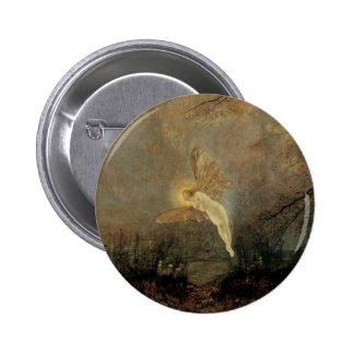 Midsummer Night, Grimshaw, Vintage Victorian Fairy Button