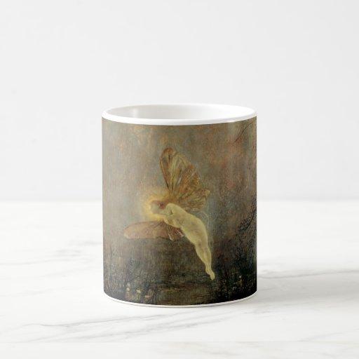 Midsummer Night, Grimshaw, Vintage Victorian Fairy Classic White Coffee Mug