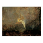 Midsummer Night, Grimshaw, Vintage Victorian Fairy Postcard