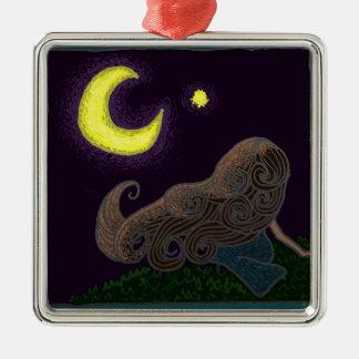 Midsummer Night Metal Ornament