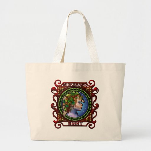 Midsummer Night Tote Canvas Bags