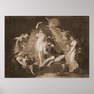 Midsummer Nights Dream 1796 Poster