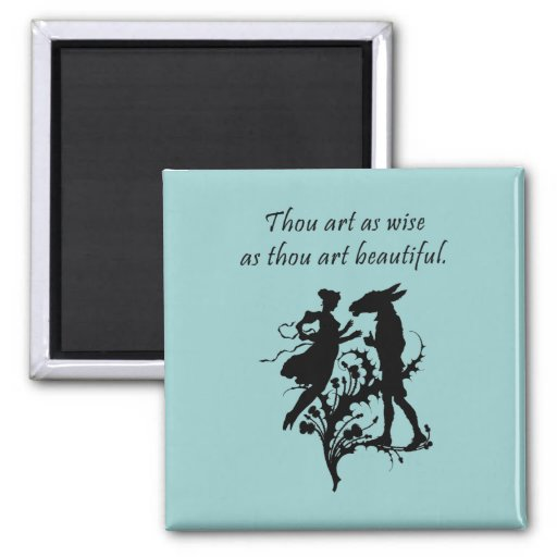 Midsummer Night's Dream 2 Inch Square Magnet