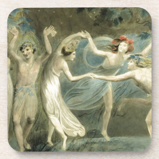 Midsummer Night's Dream by William Blake Coaster