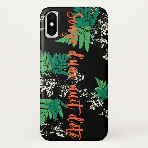 Midsummer Night's Dream iPhone X Case